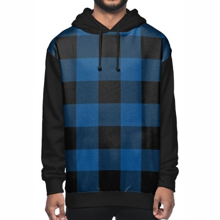 Moletom Chess Clothing Xadrez Azul