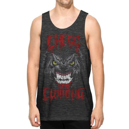 Regata Chess Clothing Blood Cinza