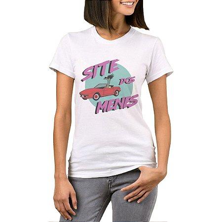 Camiseta Feminina Chess Clothing SDM Cadillac Branca