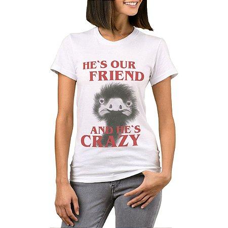 Camiseta Feminina Chess Clothing SDM Friend Branca
