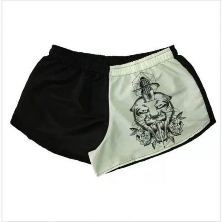 Shorts Feminino Chess Clothing Tiger