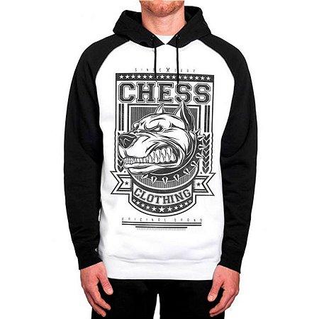 Moletom Raglan Chess Clothing Dog Furious