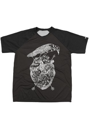 Camiseta Chess Clothing Estampa Heart