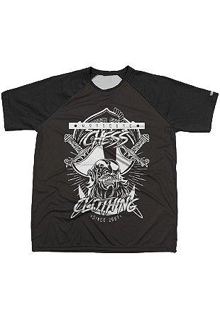 Camiseta Chess Clothing Estampa Pirata