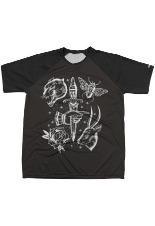 Camiseta Chess Clothing Estampa Dagger