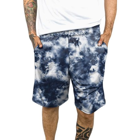 Bermuda Chess Clothing Dri-Fit Tie-dye Azul