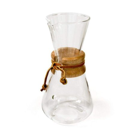 Chemex com Alça de Madeira 3 Xícaras