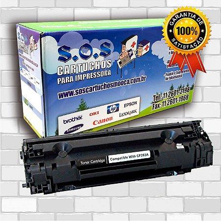 Toner Compatível HP CF283A (100% NOVO)