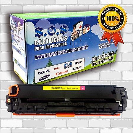 TONER COMPATÍVEL COM HP CF213/CB543/CE323 MAGENTA (100% NOVO)