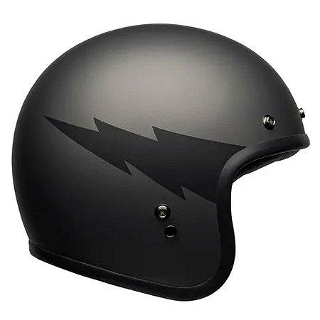 Capacete Bell Custom 500 Thunderclap Matte Grey
