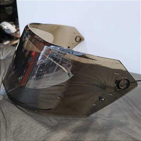 Viseira Original Fumê em policarbonato antirrisco para o capacete Bieffe B-12
