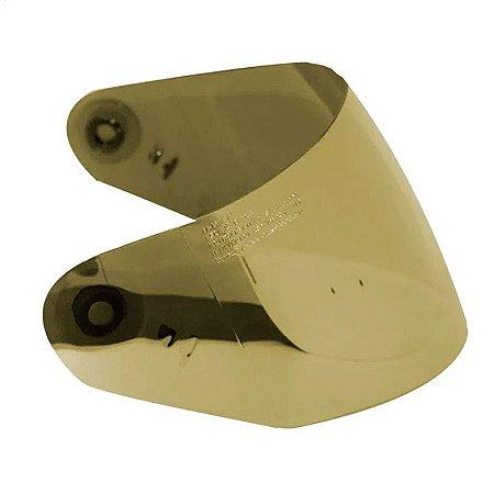 Viseira de capacete Norisk FF302 Iridium Dourada Original