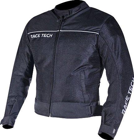 Jaqueta Race Tech Fast Air Ventilada Preta
