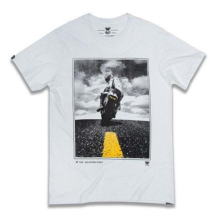Camiseta Foto Piloto - Branca