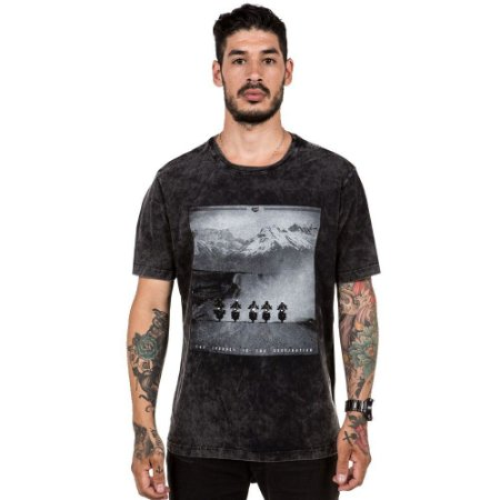 Camiseta Off Traill - Preto