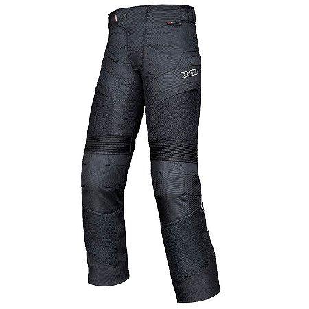 Calça X11 Motociclista Breeze Preto Impermeável