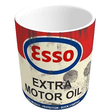 Caneca lata de óleo ESSO