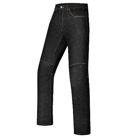Calça X11 Jeans Motociclista Ride Preta