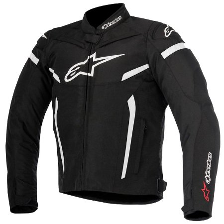 Jaqueta Alpinestar T-Gp Plus R V2 Air Preto E Branca