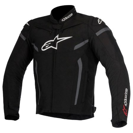 Jaqueta Alpinestar T-Gp Plus R V2 Air Preto e Cinza
