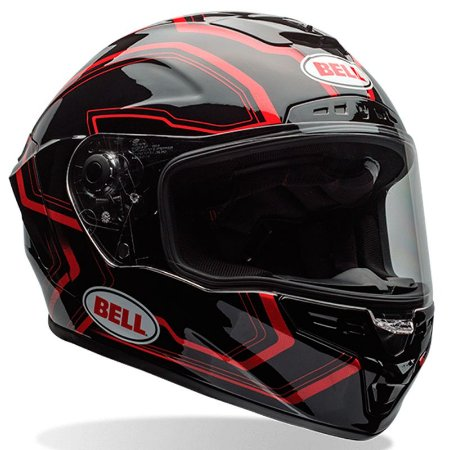 Capacete Bell Star TriMatrix Pace Black/ Red