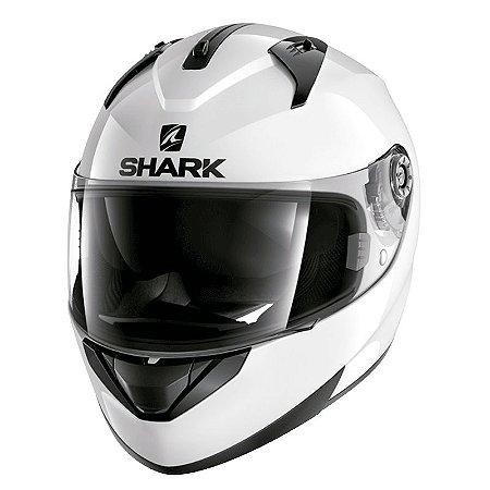Capacete Shark Ridill Blank Whu (C/Viseira Solar)