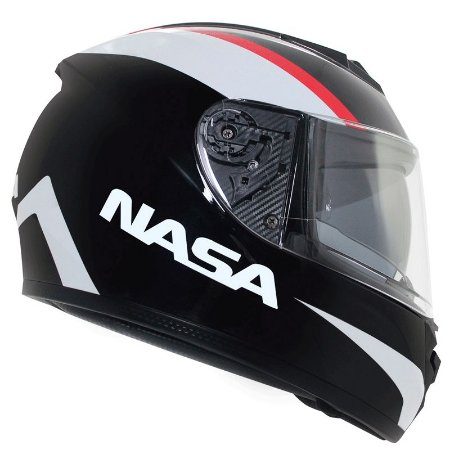 Capacete Nasa Racing Ns-901 Hero com viseira solar