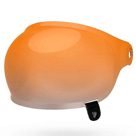 Viseira Bell Bullitt Bubble Âmbar Gradiente Original