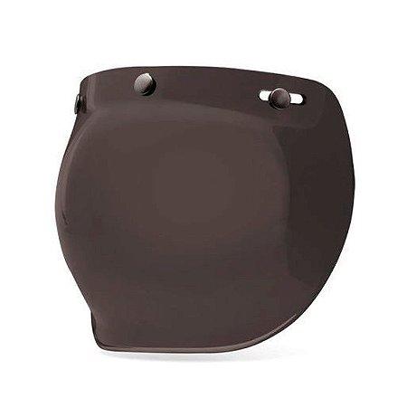 Viseira Capacete Bell Custom 500 Bubble Fume Escura Original