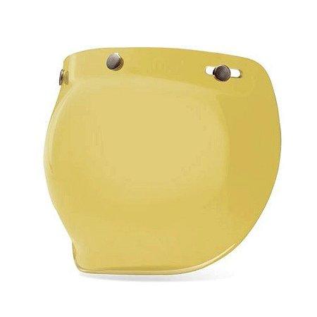 Viseira Capacete Bell Custom 500 Bubble Yellow Original