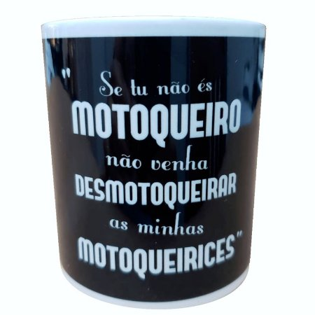 """Caneca de Moto """"Meme"""""""