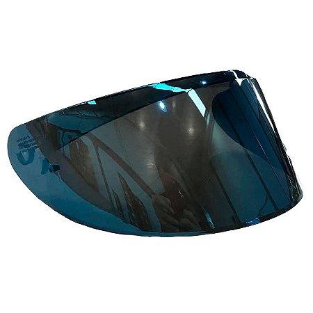 Viseira Capacete Axxis Eagle/ Draken Original Azul