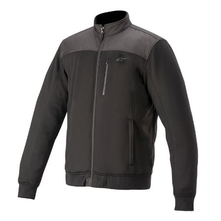 Jaqueta Alpinestars Cafe Track Fleece Preto