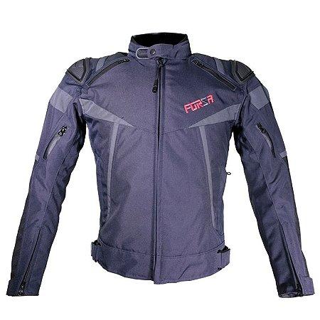 Jaqueta Motociclista Forza Textile Mugello Racing Dark Blue