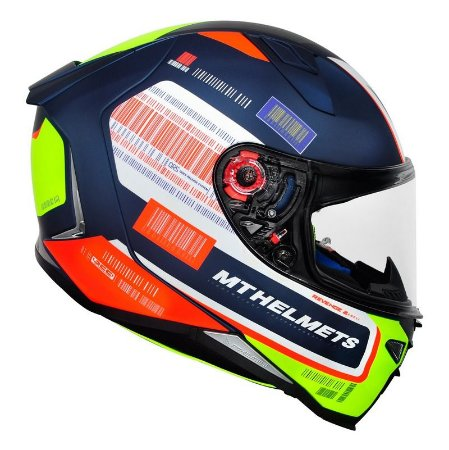 Capacete Mt Revenge 2 Rs Matt Blue