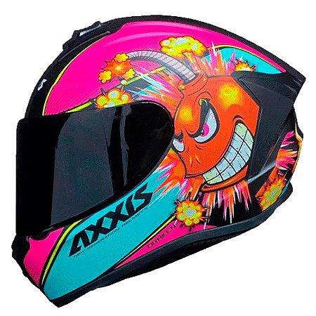 Capacete Axxis Draken Bomb Matt Pink