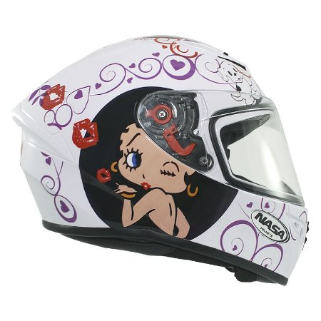 Capacete Nasa Ns-701 Betty Boop