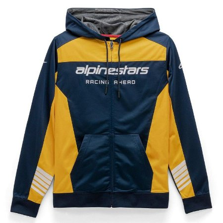Moleton Alpinestars Sessions II Fleece Azul Ouro