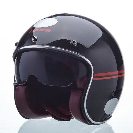 Capacete Lucca Sublime Red Lines