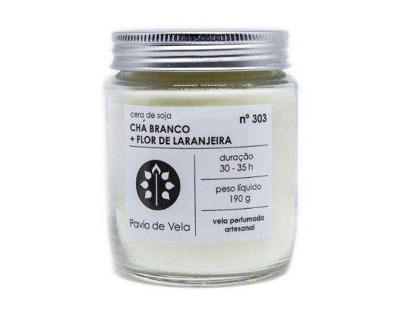 Chá Branco+Flor de Laranjeira | 35 horas (Floral)
