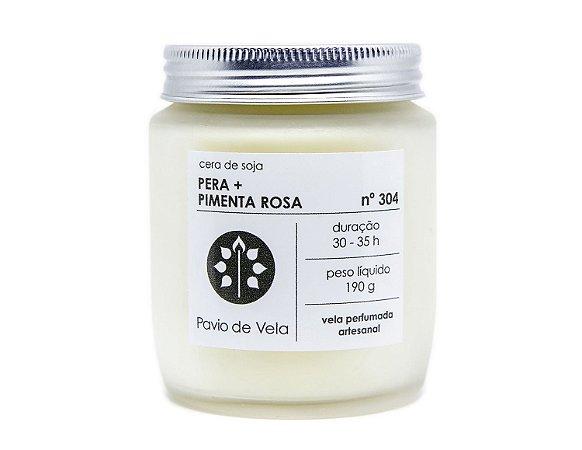 Vela Pêra+Pimenta rosa   35 horas (Gourmand)