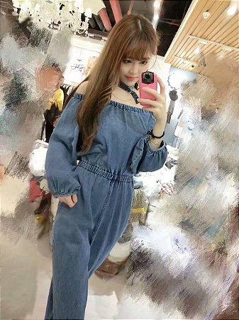 Macacao Feminino Jeans,  O seu estilo é você, escolha a sua tendência. Encontre Macacao Feminino Jeans - Macacão Femininos