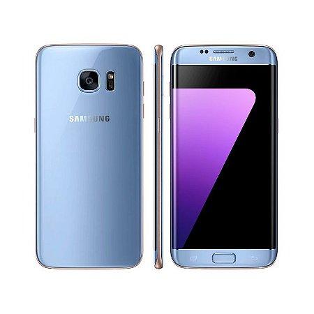 "Smartphone Samsung Galaxy S7 Edge Android 6.0 Tela 5.5"" 32GB 4G Câmera 12MP - Preto (whatsapp 91987284604)"