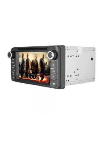 "6.2"" tela de toque carro DVD player w / gps, AUX"