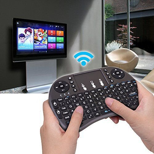 Mini Wireless Keyboard Mouse Combo Touchpad