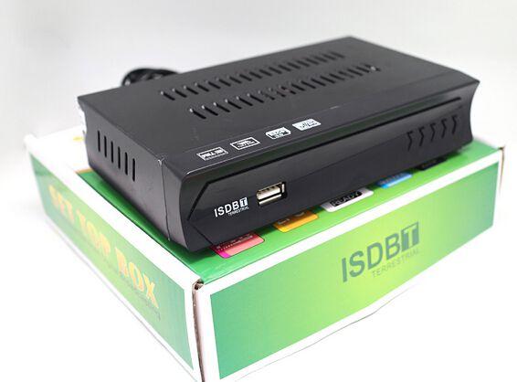 conversor digital  Set Top Box Receptor Tv Digital Multimídia Com Gravador