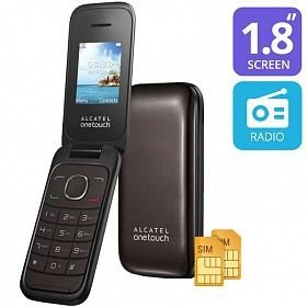 Alcatel Flip 2 Chips One Touch 1035d Preto