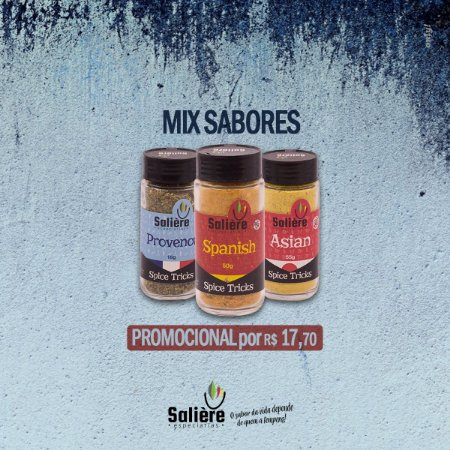 Combo Spice Tricks MIX SABORES