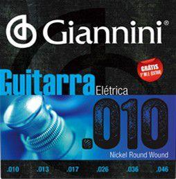 ENC. GIANNINI GUITARRA NIQUEL 0.010