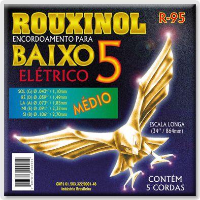 ENC. ROUXINOL CONTRA BAIXO 5 CORDAS